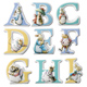The World Of Beatrix Potter Character Alphabet…