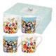 Collier Campbell Larch Flower 4 Mug Gift Set