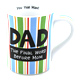 Our Name Is Mud Dad's The Boss Mug