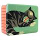 John Hanna Deep Rectangular Cat Tin