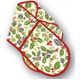 Julie Dodsworth Spice Cotton Double Oven Glove