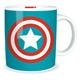 Marvel Comics Captain America Logo 350ml Ceramic…