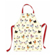 McCaw Allan Chickens PVC Kids Apron 3-5 Years