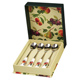 Queens Hooker's Fruit Set of 4 Tea Spoons in…