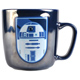 Star Wars R2D2 Embossed Metallic Mug