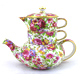 Royal Winton Summertime 3 Piece Stacking Teapot…